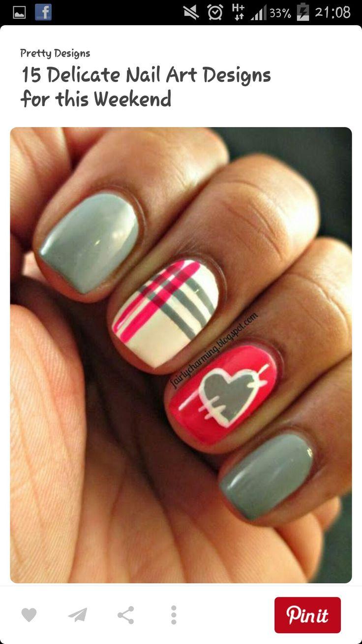 117 besten Naels Bilder auf Pinterest | Nageldesign, Nagelkunst und ...