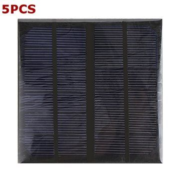 Only US$32.44, buy best 5pcs 3W 6V Epoxy Solar Panel Solar Cell Panel DIY Solar Charger Panel sale online store at wholesale price.US/EU warehouse.