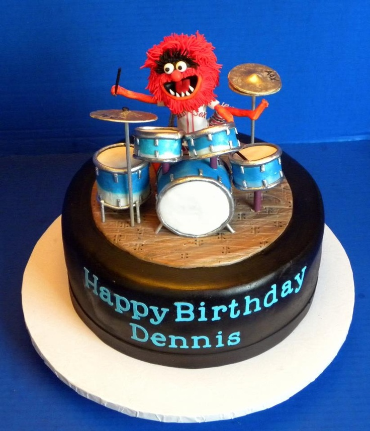 Cake Designs Drum Set : 17 Best images about Drum cakes on Pinterest Groom cake ...