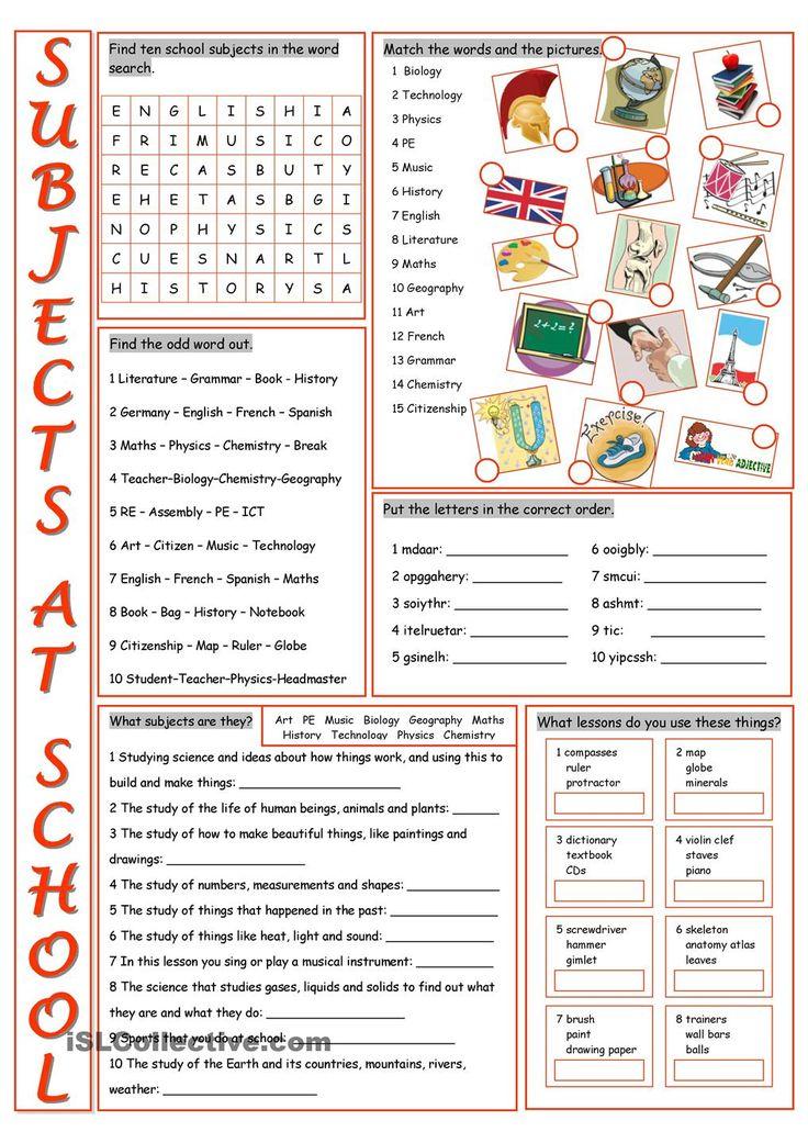 1071 best English worksheets images on Pinterest | English grammar ...