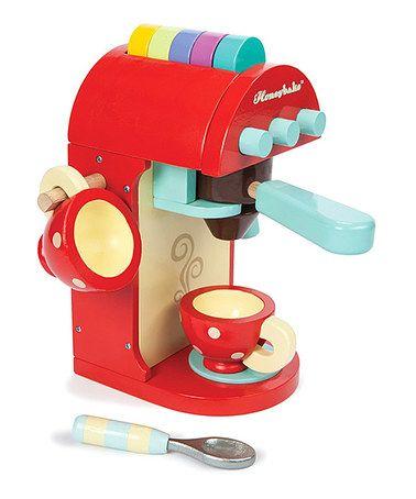 Another great find on #zulily! Café Machine Toy Set #zulilyfinds