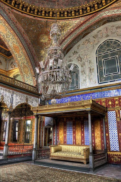 Topkapi Palace, Istanbul, Turkey http://www.yourcruisesource.com/two_chefs_culinary_cruise_-_istanbul_to_athens_greek_isles_cruise.htm