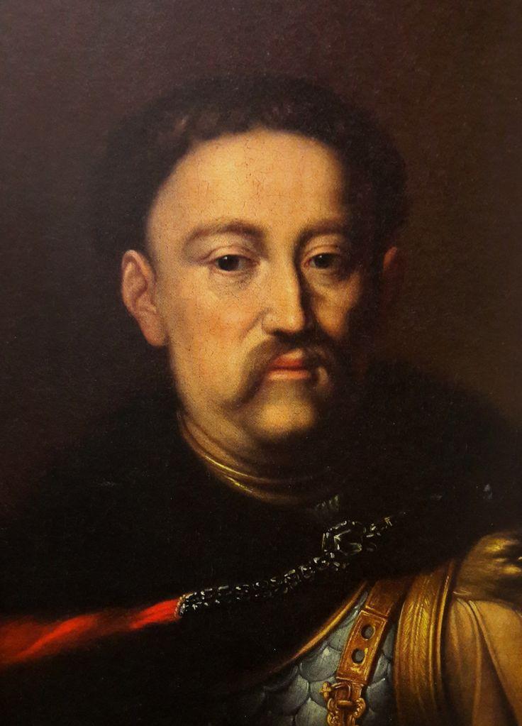 Detail of portrait of John III Sobieski by circle of Daniel Schultz, ca. 1676 (PD-art/old), Alte Pinakothek