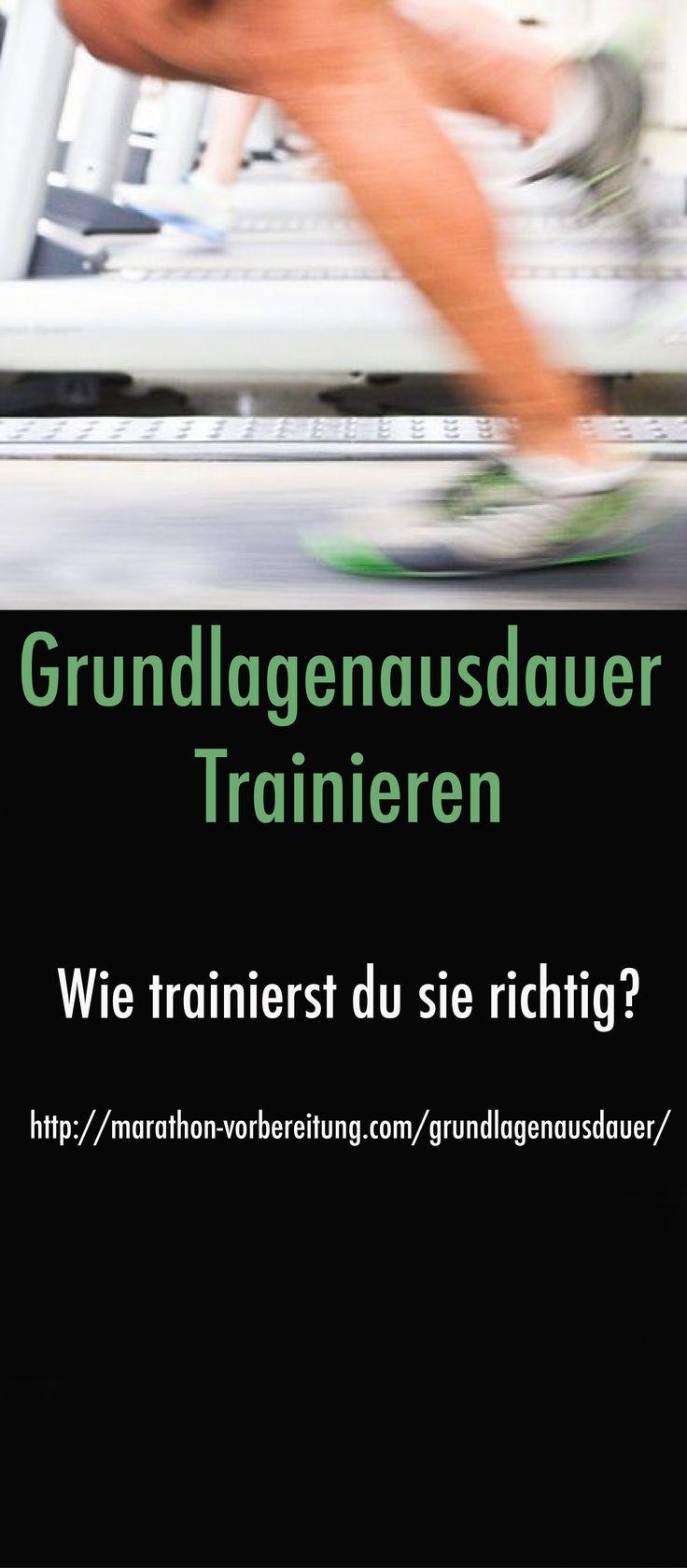 Grundlagenausdauer trainieren - Wie trainierst du sie richtig? http://marathon-vorbereitung.com/grundlagenausdauer/