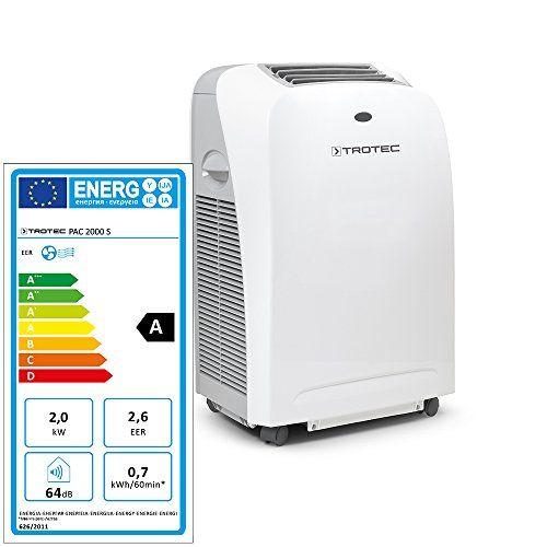 TROTEC Climatiseur local, climatiseur monobloc PAC 2000 S