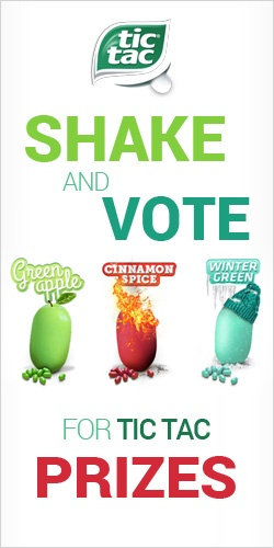 Shake and Vote For Tic Tac Prizes  *Contest Closes on June 25*  http://womenfreebies.ca/contest/shake-and-vote-for-tic-tac/