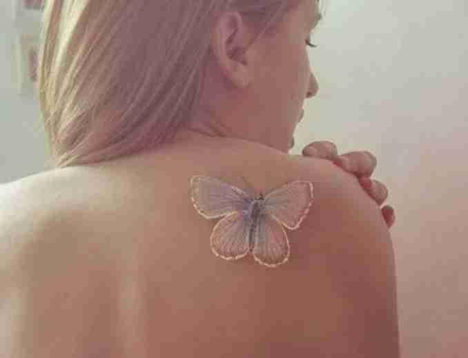 50 fotos de tatuagens com tinta branca 3
