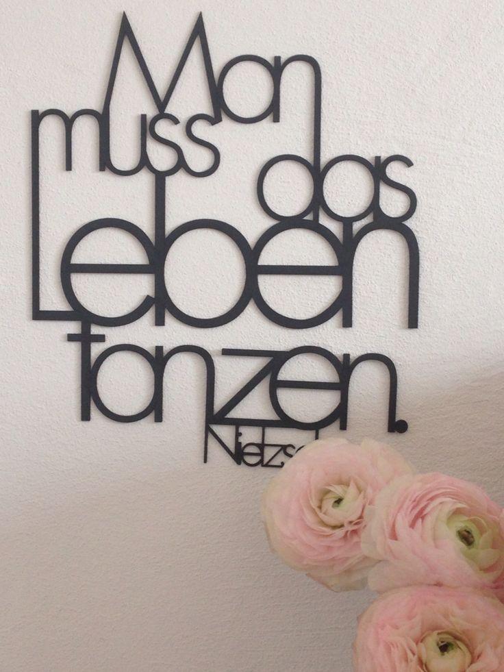 Wand-Worte, die beFLÜGELn.