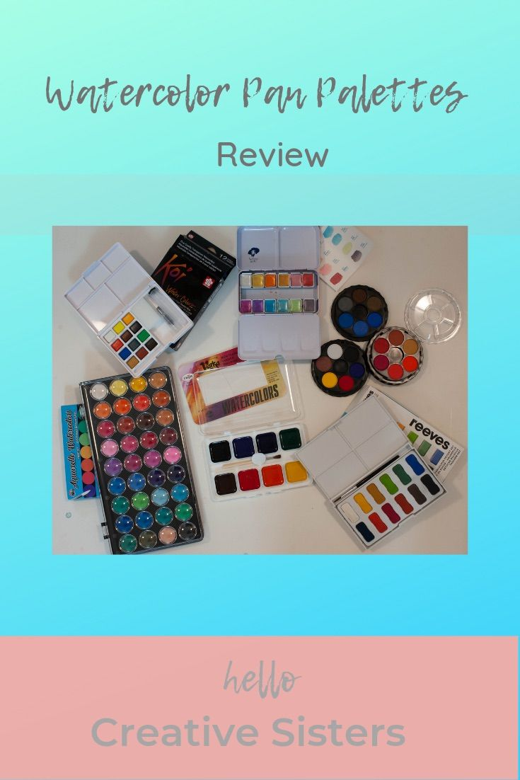 Which Watercolor Palette Is Perfect For You Describes Size