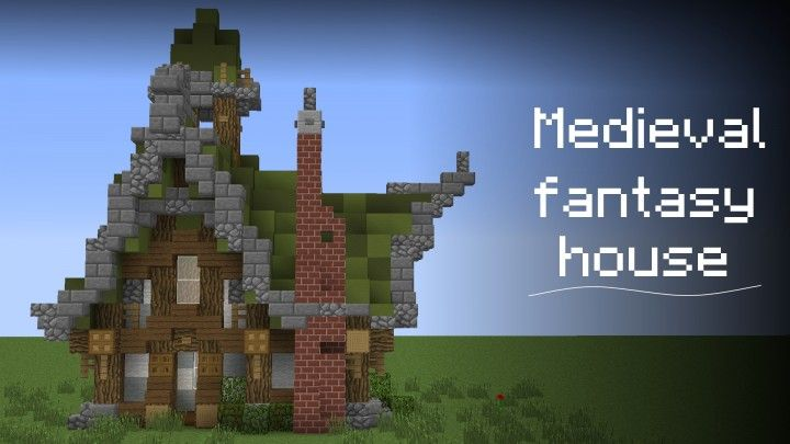Medieval Fantasy House Download Minecraft Project Mapa
