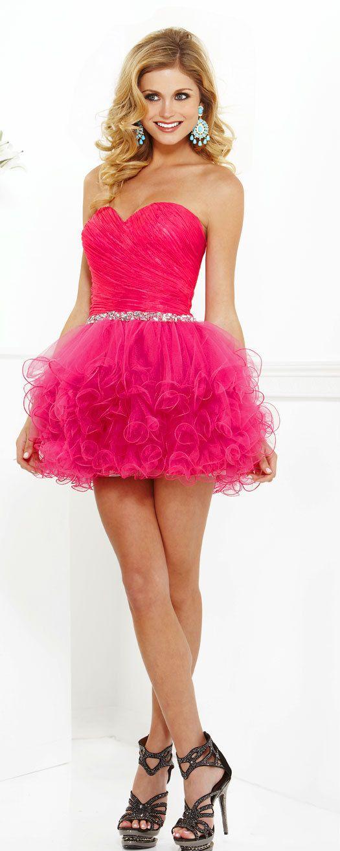 vestidos cortos de 15 años