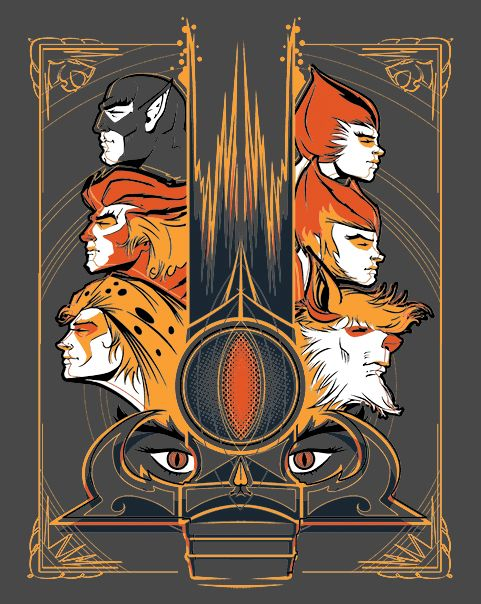 Thunder, Thunder, Thunder | $10 ThunderCats tee from ShirtPunch today only!