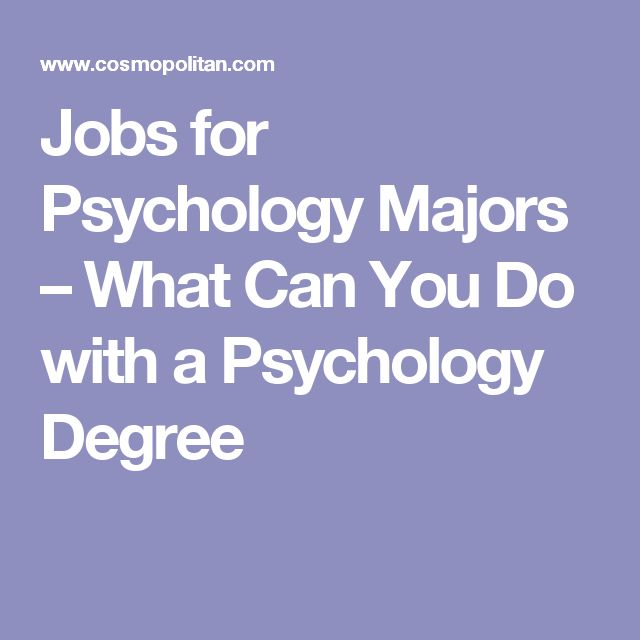 Jobs for Psychology Majors – What Can You Do with a Psychology Degree