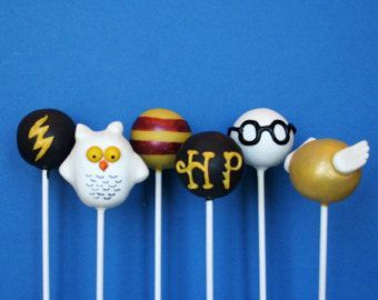 Harry Potter Cake Pops.