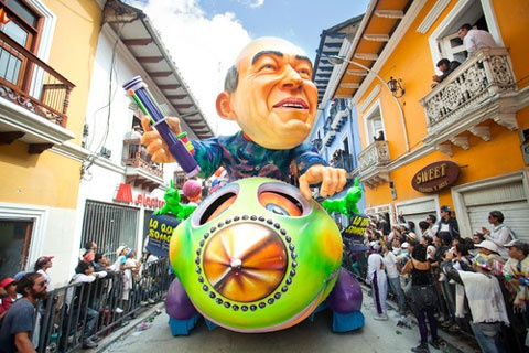 the Incredible Artistry of Colombia's Carnaval de Negros y Blancos