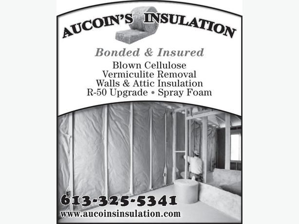 INSULATION ABATEMENT 613-699-2763 AUCOINS INSULATION OTTAWA
