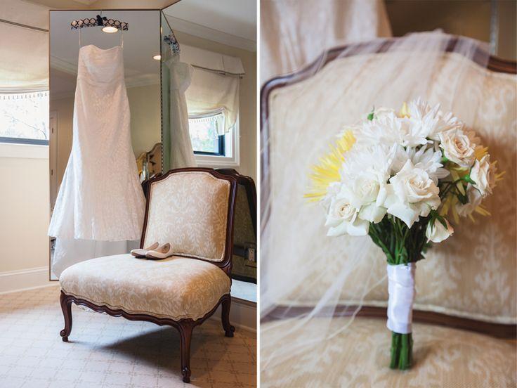 The Bridal Suite In The Barn At Trump Winery Wedding | Charlottesville, VA  | Alicia