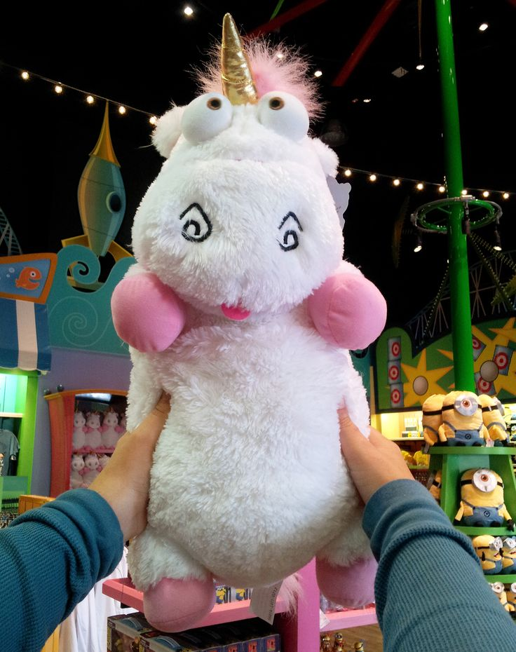 despicable me unicorn plush it 39 s so fluffy agnes 26 xlarge very soft new happy comment. Black Bedroom Furniture Sets. Home Design Ideas