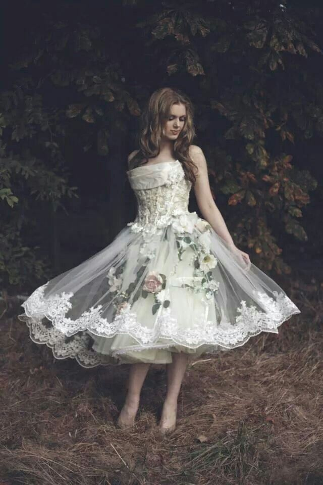 Country garden gown