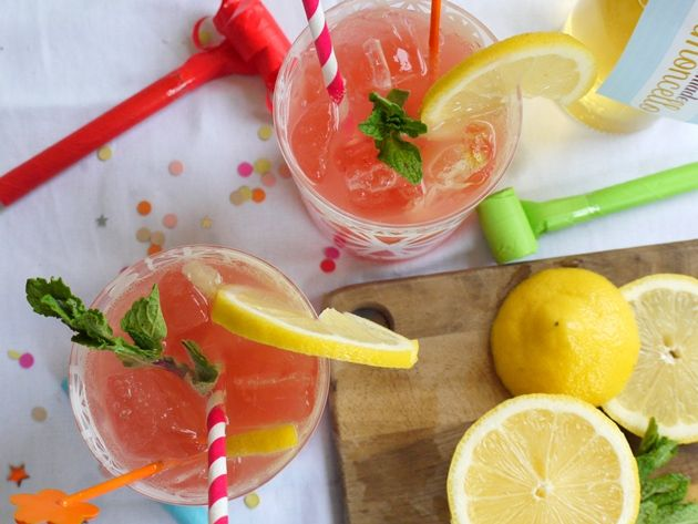 Grapefruit Limoncello Punch recipe by Valley & Co.