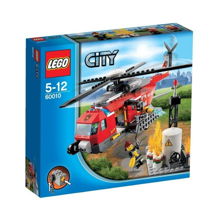 AmazonSmile: Lego City 60010 Fire Helicopter: Toys & Games