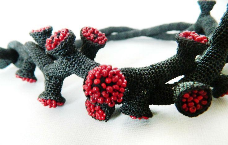 Lidia Puica - Necklace  detail