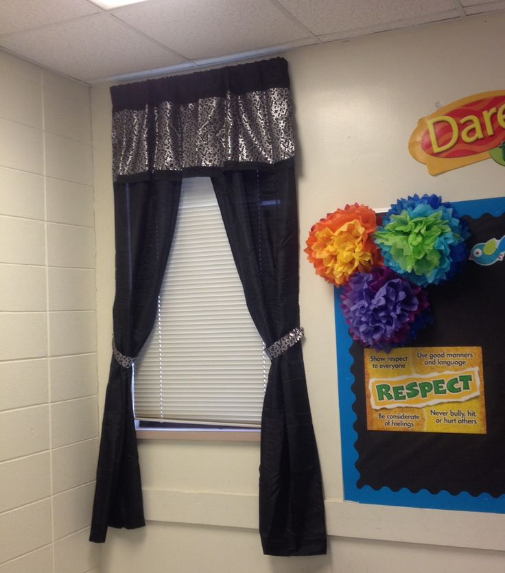 Classroom Curtain Design ~ Best classroom curtains images on pinterest