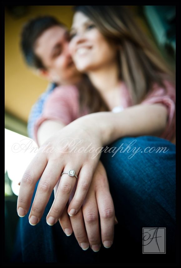 Would love this on wedding day with his hand on top of mine too. Not the typical way of showing off the ring