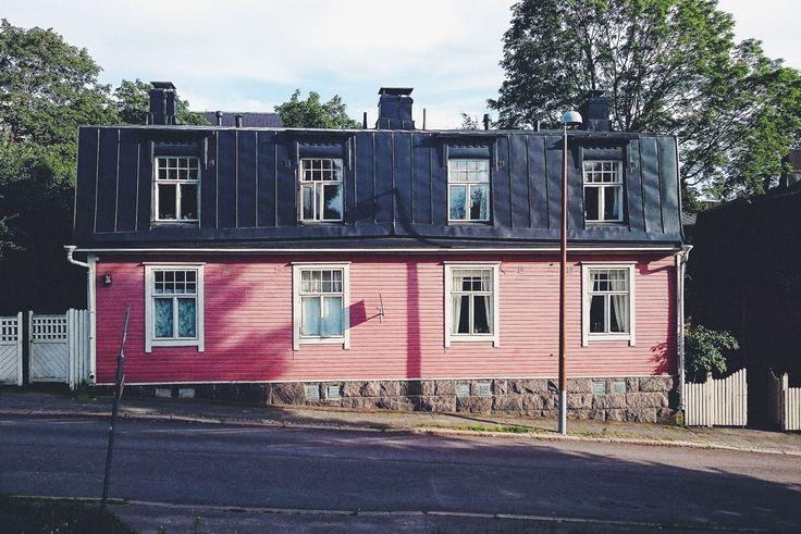 Puu-vallila, Helsinki, Vallila, puuvallila