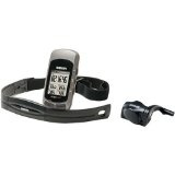 Garmin Edge 305 Bicycle GPS Navigator with Heart Rate Monitor and Speed/Cadence Sensor (Electronics)By Garmin