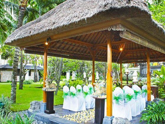 Segara Village Resort, Bali. Wedding gazebo