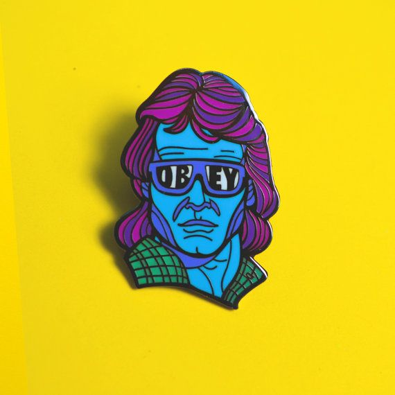 They live John Carpenter Pin Roddy Piper Horror by MutantPins