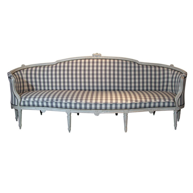 Swedish Gustavian Tub Sofa, 18th Century