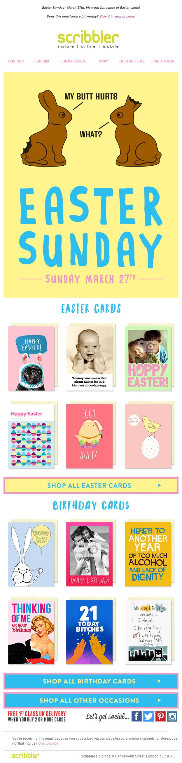 94 best easter emails images on pinterest email marketing scribbler easter recommendations email emailmarketing email marketing product recommendations design negle Choice Image