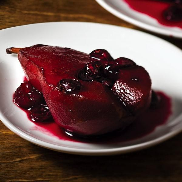... Poached Pears | Slow Cooker | Pinterest | Cherries, Poached pears and