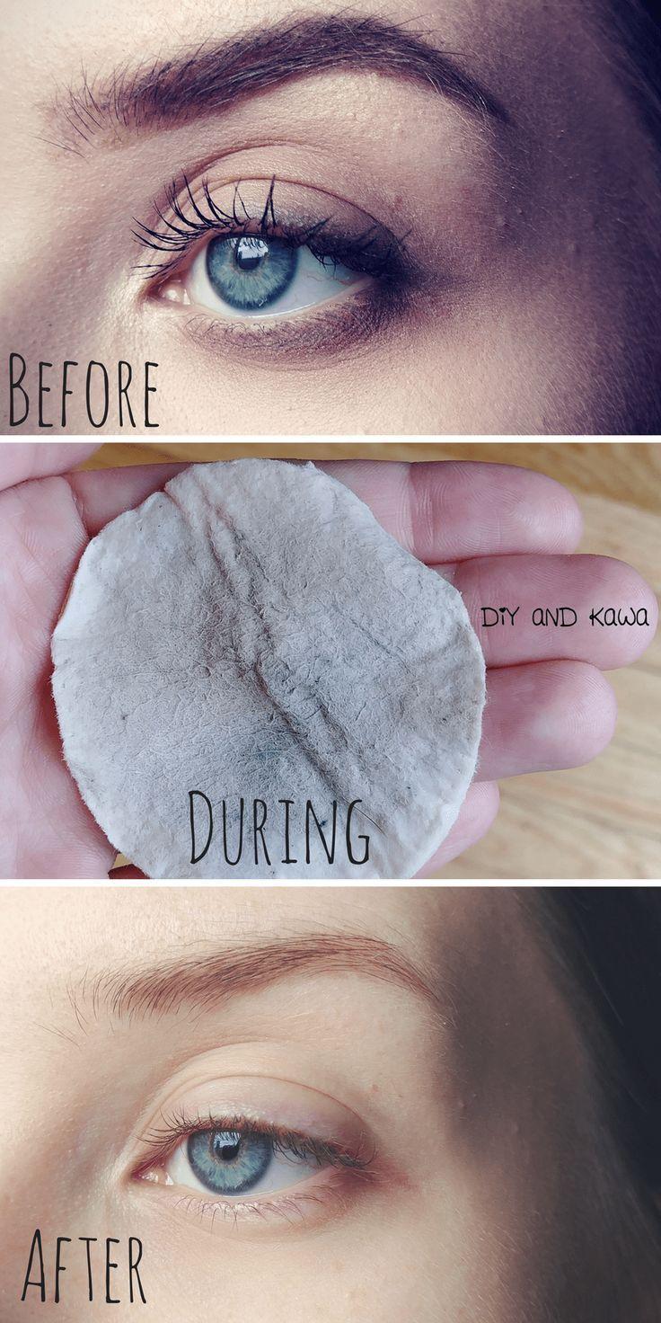 All Natural Makeup Remover: Works on natural, regular, and waterproof makeup!
