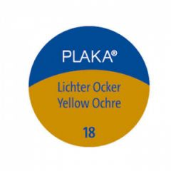Pelikan Plaka Matt Boya 50 ml. 18 Yellow Ochre