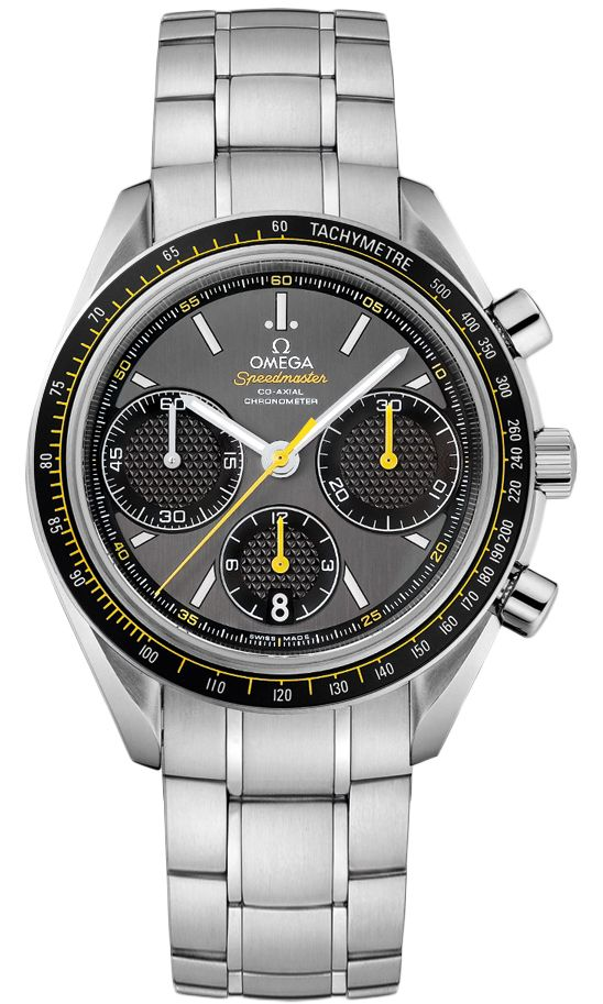 326.30.40.50.06.001  NEW OMEGA SPEEDMASTER Grey Dial - Chronograph and Date Features - Self Winding Automatic Movement- Caliber 3330 Co-Axial Escapement Movement - 52 Hour Power Reserve
