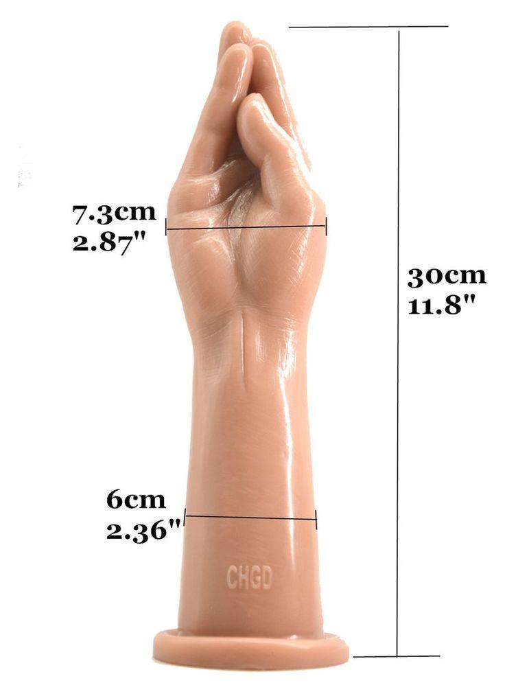 Fisting dildo anal plug big hand Anal stuffed butt plug