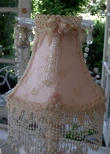 500 Best Images About Lampshades On Pinterest Lace Lamp