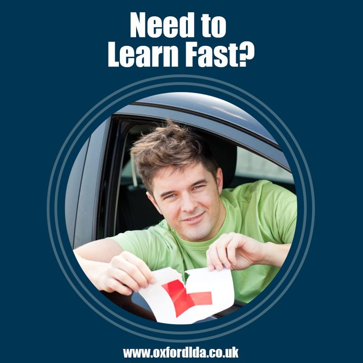 Need to Learn Fast? We offer intensive driving courses in Oxford for those that simply can't wait to become road legal. To benefit from great block-booking discount schemes and our pass guarantee, book your lesson right today: https://goo.gl/GricTq