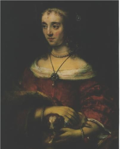 Lady with a Lap Dog - Rembrandt: Art Paintings, Paintings Rembrandt, Lap Dogs, Lady, Rembrandt De, Art Rembrandt, Eclectic Art, Art Galleries