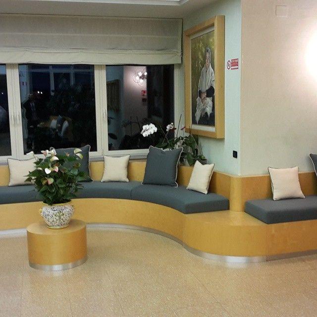 Cuscineria ignifuga ingresso Villa Jole Bagno a Ripoli