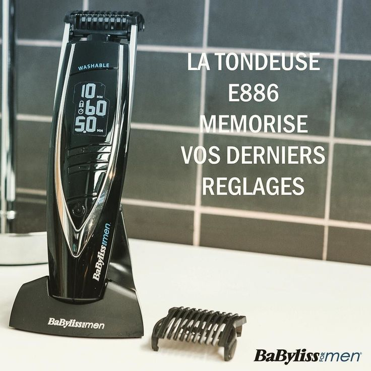 Pour vous aider à reprendre le rythme du matin BaByliss vous conseille d'utiliser la tondeuse barbe E886. Son écran digital vous indique clairement les réglages eux-même mémorisés depuis la dernière fois.  #style #beardgrooming #hommeabarbe #styles #mensgrooming #menstyles #beardgang #perfection #barberlife #barber #bigbeard #corps #tondeuse #body #masculin #menwithbeard #getbearded #beardofinstagram #styleoftheday #barbe #beardlife #barbergrade #mensessentials #trimmer #beauté #soin…