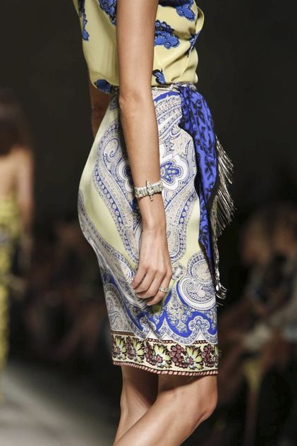 ETRO READY TO WEAR SPRING SUMMER 2014 MILAN