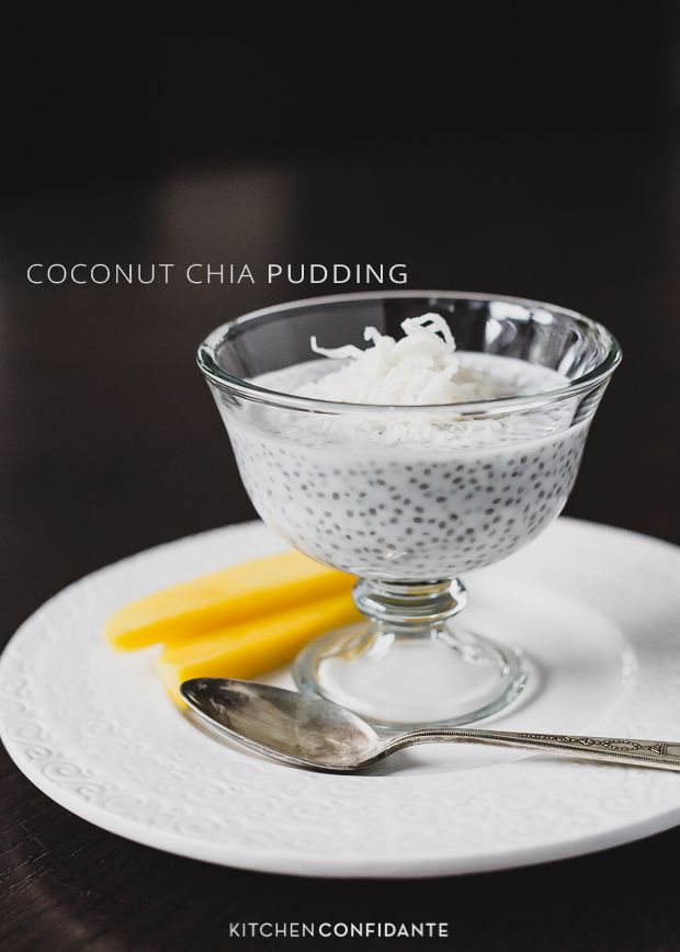 Coconut Chia Pudding | www.kitchenconfidante.com