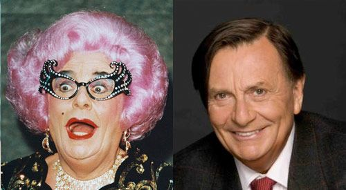 Dame Edna Everage (aka Barry Humphries)