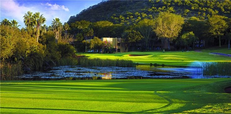18th hole - Gary Player Golf Course