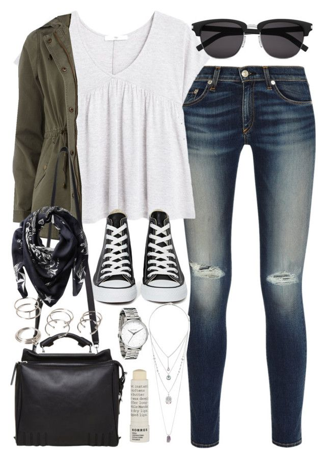 """""""Outfit for college"""" by ferned on Polyvore"""