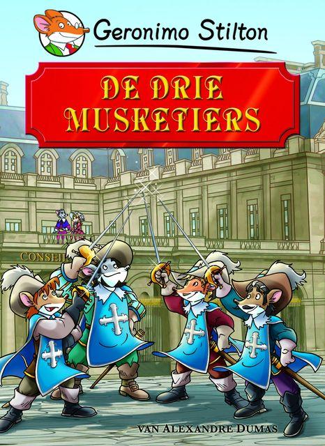 De drie musketiers is het spannende verhaal over D'Artagnan die een  musketier wil worden. Musketiers zijn de speciale soldaten van koning Lodewijk XIII. Tijdens zijn opleiding tot musketier sluit D'Artganan vriendschap met drie andere musketiers: Porthos, Athos en Aramis. De musketiers hebben een strijdkreet: Eén voor allen, allen voor één! Samen vechten ze tegen de troepen van kardinaal Richelieu, die probeert een oorlog met Engeland uit te lokken.